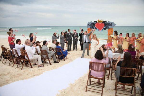 Photography: Megan Thompson Photography - meganthompsonphotography.com Wedding Planning: Weddings in Playa - weddingsinplaya.com  Read More: http://stylemepretty.com/2011/08/09/blucacao-beach-club-wedding-by-megan-thompson-photography/