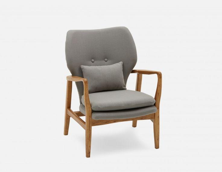 KLEIN - Armchair - Grey