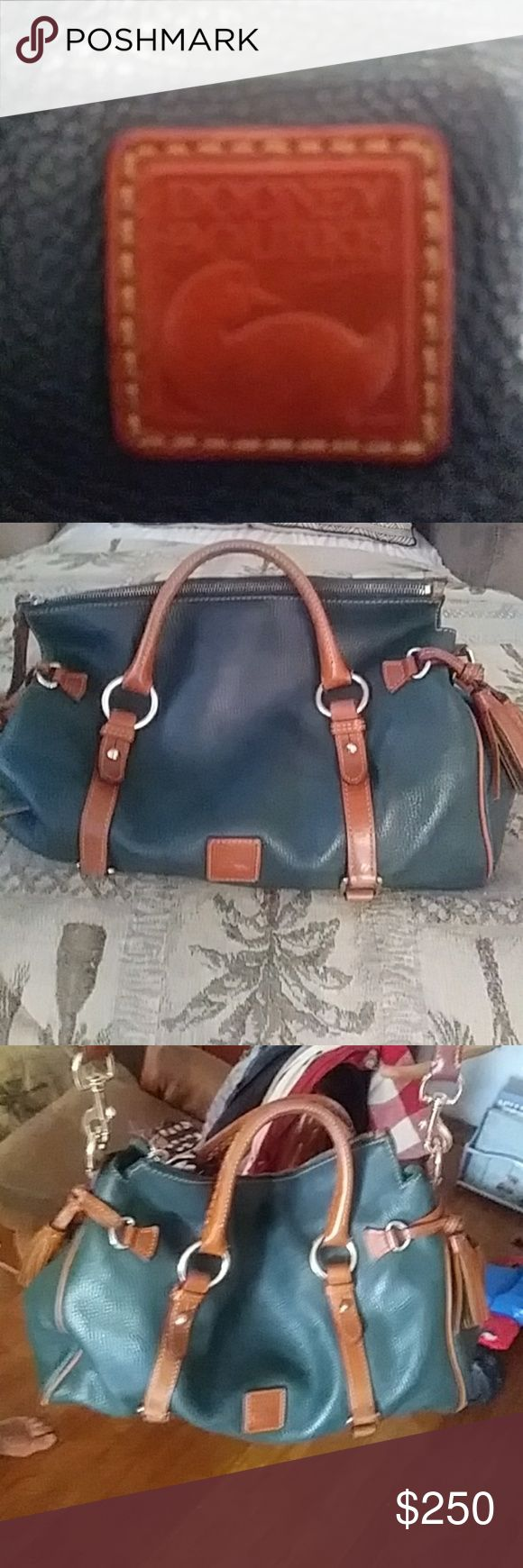 Dooney Bourke AUTHENTIC FLORENTINE Large (Emerald) handbag Dooney & Bourke Bags