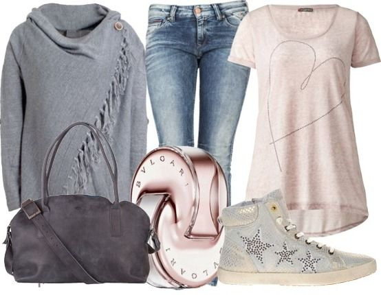 Soft pink - Casual Outfits - stylefruits.nl