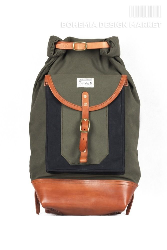 #limited #edition #green #rolltop #leather #element #original #local #production