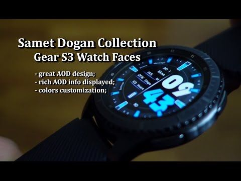 Samet Dogan Gear S3 Watch Faces Collection - Andrasi.ro