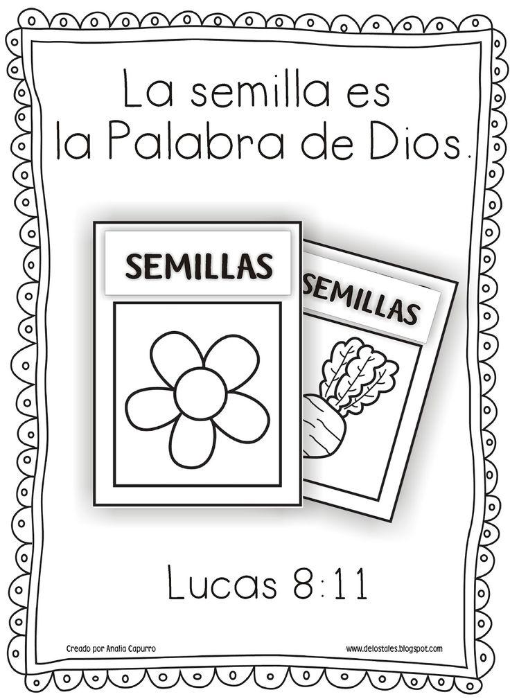 La Biblia es como...   Semilla : Lucas 8:11   Oro y Plata : Salmos 119:72   Fuego : Jeremías 23:29a   Martillo : Jeremías 23:29b   Espa...                                                                                                                                                     Más