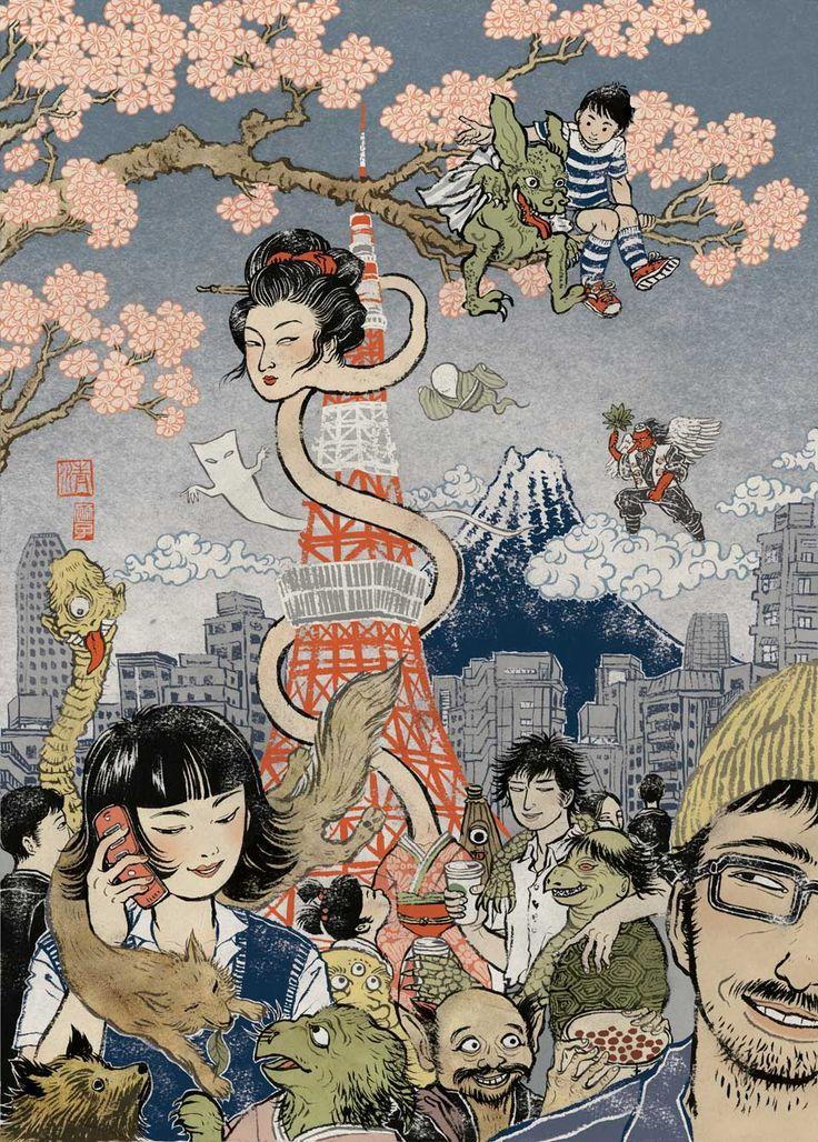 La Yuko Shimizu que no creó Hello Kitty   OLDSKULL.NET