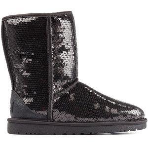 UGG AVUSTRALYA Klasik Kısa Pullu Boots