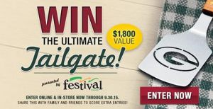 PACKERS FANS!  Enter to ‪#‎win‬ the ultimate tailgating prize pack from Festival Foods!