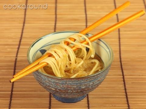 Zuppa di pasta al tamari ricette cucina vegetariana - Cucina vegetariana ricette ...