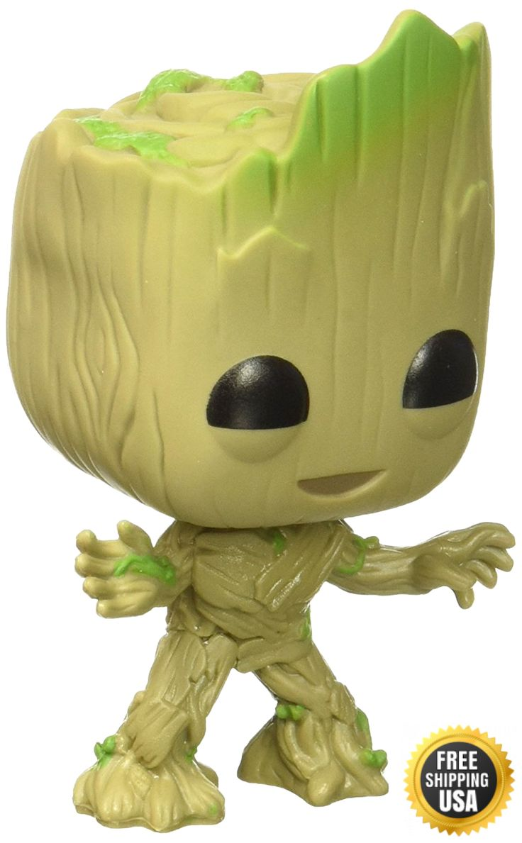 Funko POP Movies: Guardians of the Galaxy 2 Toddler Groot Toy Figure New