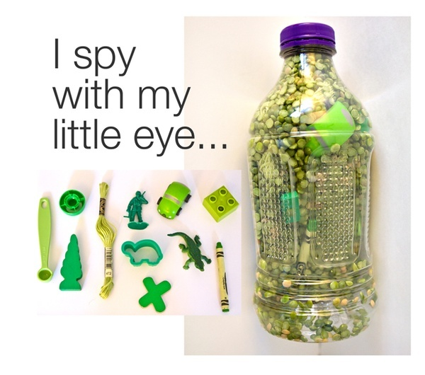 I spy bottles fun activity for kids crafts pinterest for Spy crafts for kids