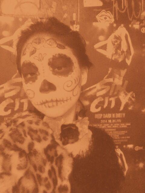 Halloween muertos/ skull makeup
