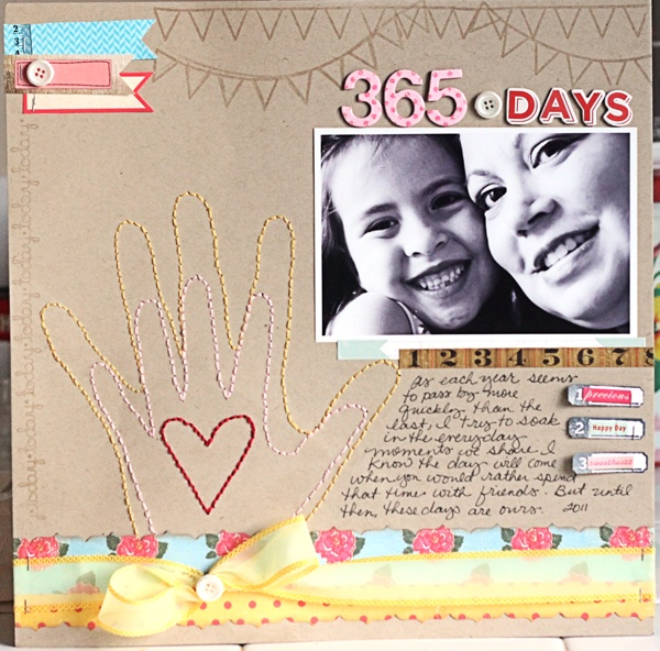Love this scrapbook layout paper projects pinterest mains de b b mod - Idee scrapbooking amour ...