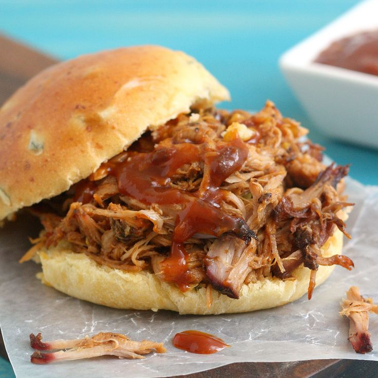 coffee chipotle pulled pork sandwiches