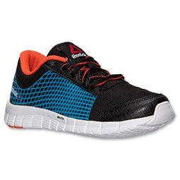 huge discount 6d661 3b370 ... Boys Preschool Reebok ZQuick Running Shoes Finish Line BlackBlue Bomb  ...