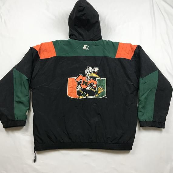 Vintage 90s 90s Vintage Miami Hurricanes Starter Jacket Etsy In 2020 Miami Hurricanes Chicago Cubs Jacket Cubs Jacket