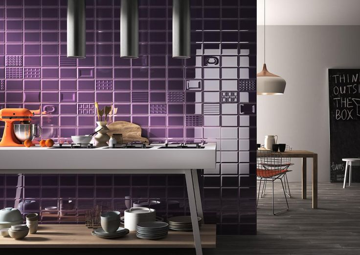 Products | Cento per Cento SpecCeramics, Inc. Wall tile - Purple