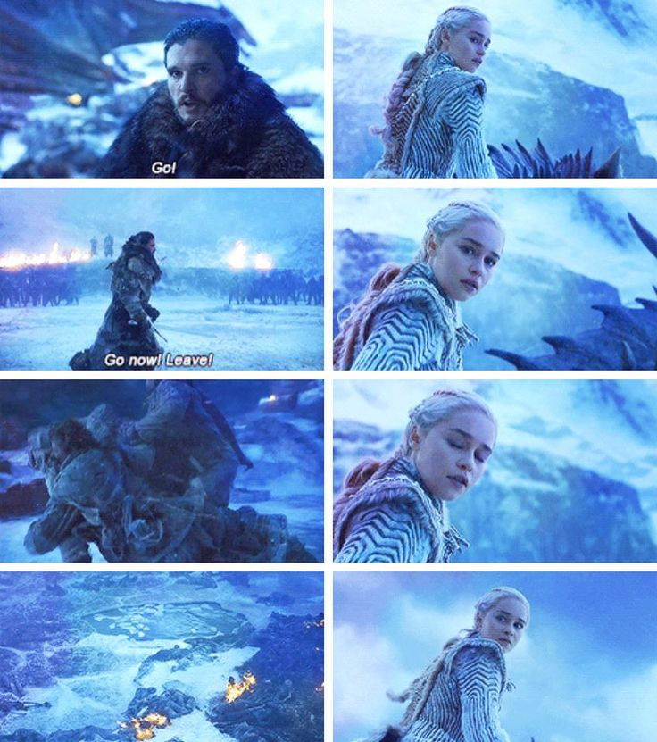 Dany did not want to leave Jon