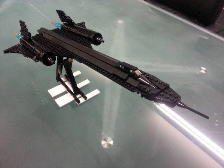 Lego SR 71 Blackbird
