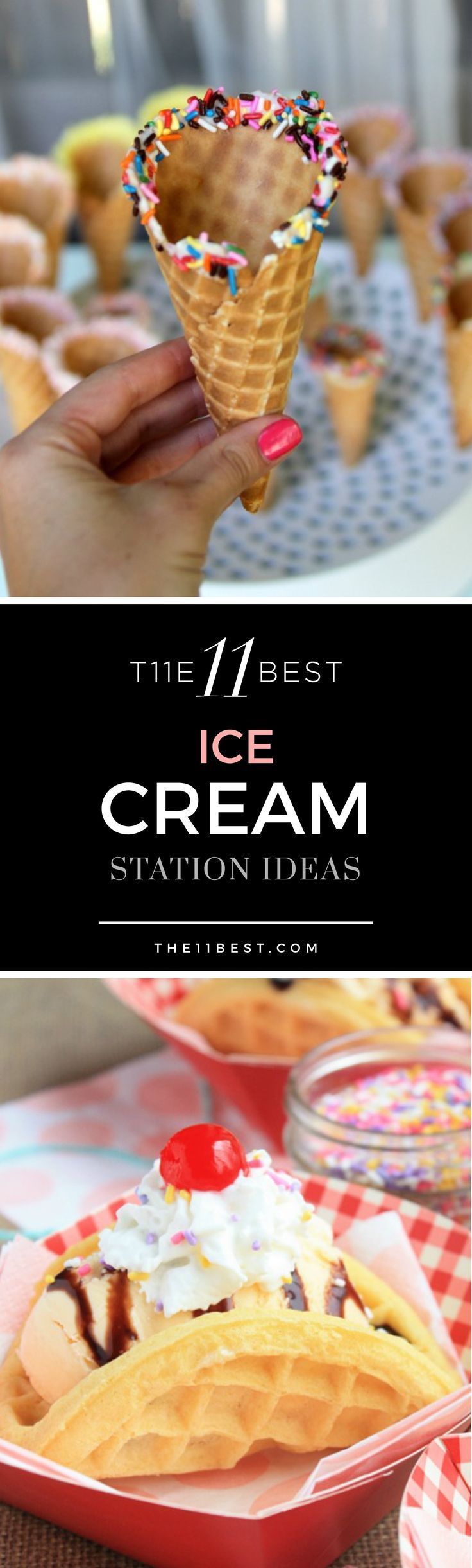The 11 Best DIY Ice Cream Station Ideas