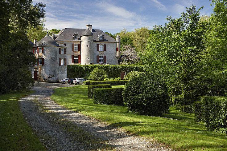 Castillo  de Urtubie, Urrugne. Francia.  Urtubie Castle, Urrugne. France.© Inaki Caperochipi Photography