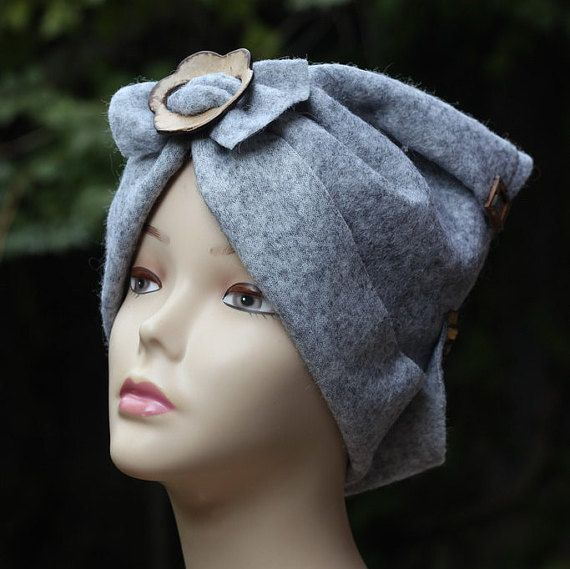 Hey, I found this really awesome Etsy listing at https://www.etsy.com/listing/261178032/felted-hats-women-felt-hat-gray-felt-hat