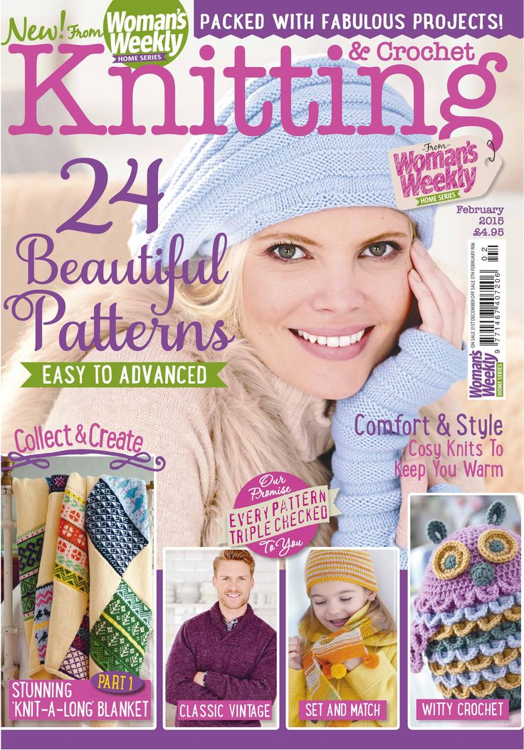 Knitting Magazine Cover : Best images about knitting magazine covers on pinterest
