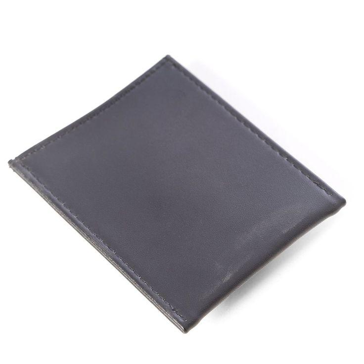 Bey-Berk Leather Magnetic Money Clip Wallet, Men's, Black