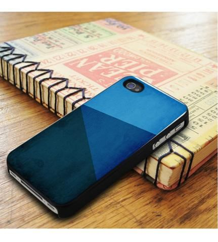 Geometric Blue Texture iPhone 5|iPhone 5S Case