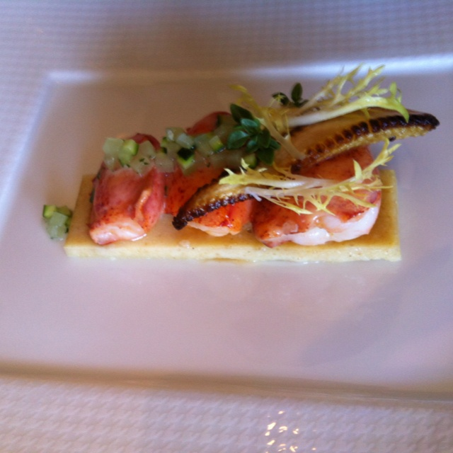 butter poached lobster with fresh tomatoes butter poached lobster ...