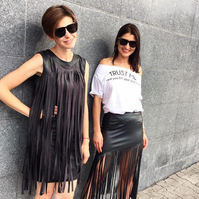 fringe, fringe skirt, fringe dress, frędzle, top trend, trendy, modne, moda, street style, spodnica fredzle, jak nosic spodnice z fredzlami