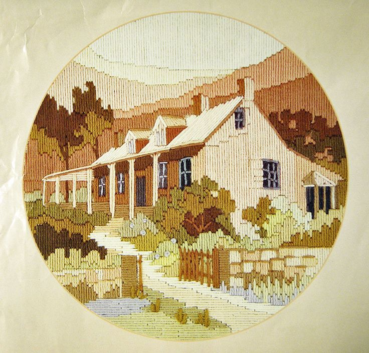 Longstitch embroidery kit from Australia