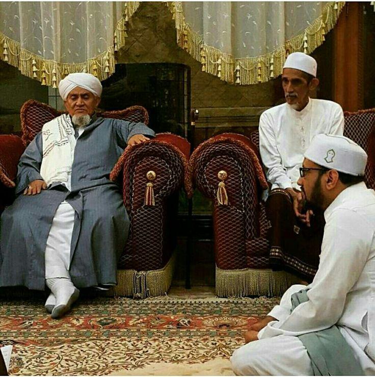 Habib Abu Bakar Adni Almaayhur, Habib Husain Assegaf dan Habib Taufiq Assegaf