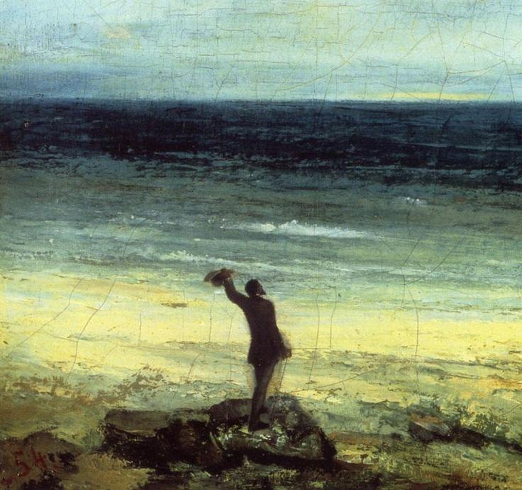 Gustave Courbet, Les bords de la mer à Palavas