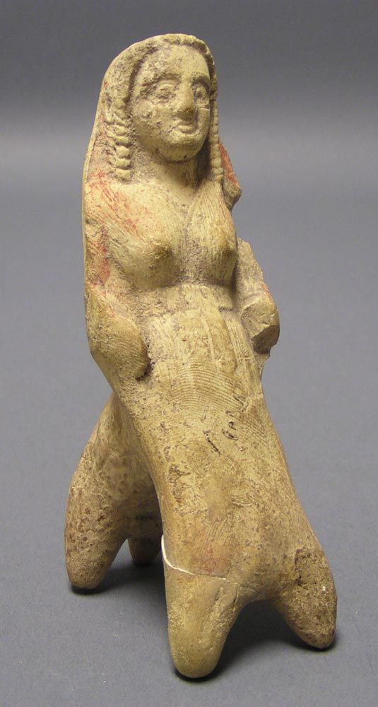 u201cThis small ceramic figure probably represents a