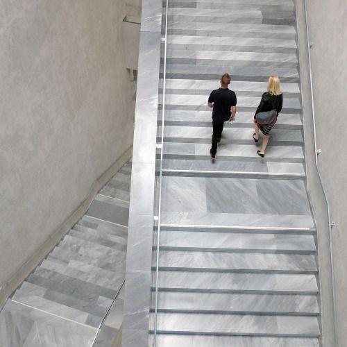 #interior #floor #finish #stair #risers #allmarble #christ&gantenbein #kunstmuseumbasel