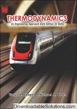 Thermodynamics An Engineering Approach 4th Edition Pdf