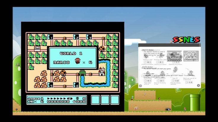 Mario 3 - SSNES manual reader