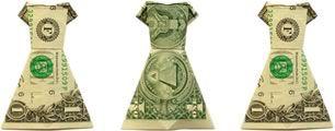 money origami dress instructions
