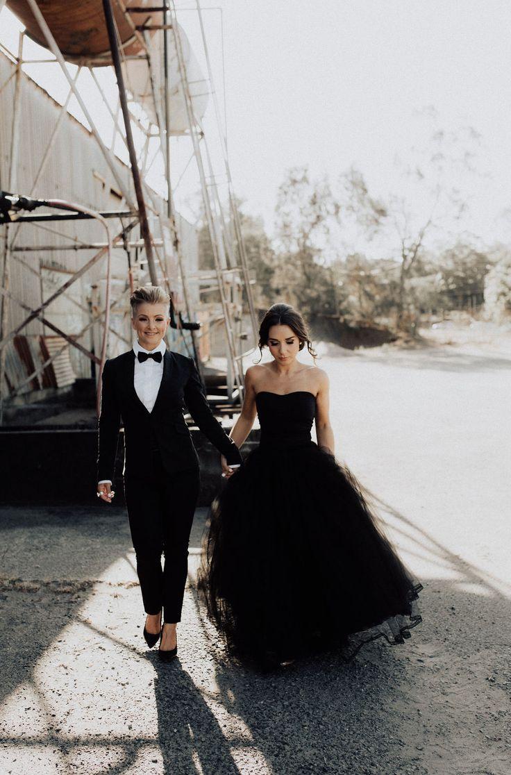 Donna & Maddi Lgbt Wedding, Wedding Couples, Wedding Dancing, Wedding Hijab, Black Wedding Dresses, Wedding Suits, Wedding Goals, Dream Wedding, Wedding Menu