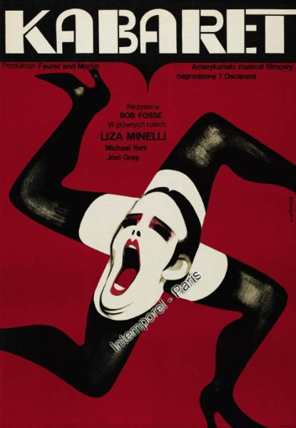 "Though a Hollywood production, it was filmed on location in Berlin; many supporting parts were played by German actors and actresses. Cabaret won eight Academy Awards (Oscars) in 1973, including ""Best Actress"" for Liza Minnelli in her signature role as Sally Bowles. Definitely a ""must-see""!"