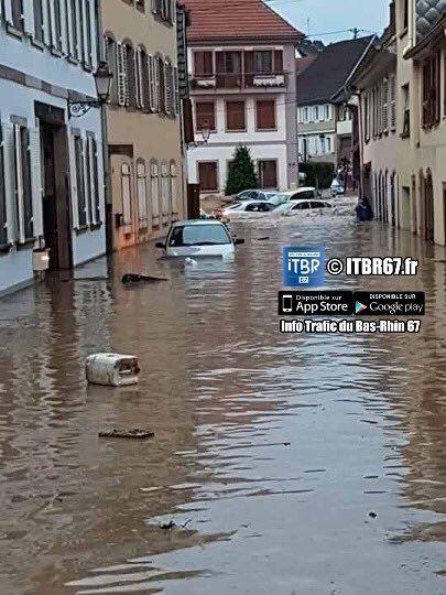 Apres le le centre, c'est au tour de L'Alasaxe d'etre touchée par les inondations !