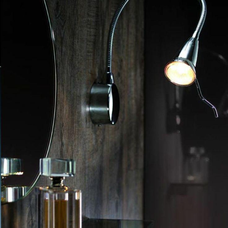 Lampada da specchio K6171/S - Valli Arredobagno -#lampada #lampadadaspecchio #specchio #arredobagno #illuminazione #shoponline #luce #risparmio #energia