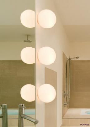 Dioscuri, Wall and mirror lights, Lighting, Contemporary bathrooms, Holloways of Ludlow