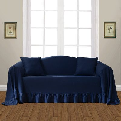 Small Sectional Sofa Do consider any sofa cover for certain classic furniture that add pleasure touch over living space The blue sofa cover possess ability in transform