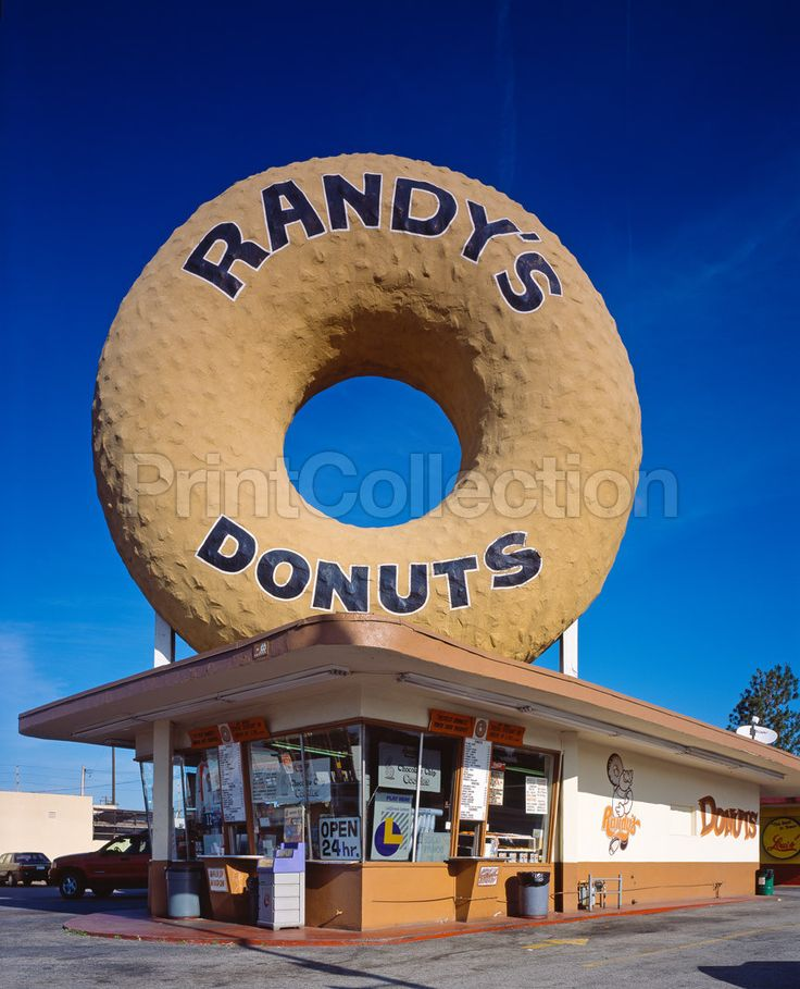 Print Collection - Randy's Donuts, Inglewood, CA