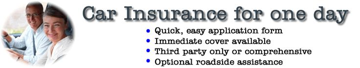 Insurance for one day #homeowners #insurance #rates http://insurances.nef2.com/insurance-for-one-day-homeowners-insurance-rates/  #1 day insurance # Buying car insurance for a single day may have been virtually impossible only a few years ago but now it is as easy as pie and hundreds of thousands of UK motorists have been able to buy the car insurance that suits them, rather than having to pay out for a full year's cover or risking driving whilst uninsured. You do not even have to own the…