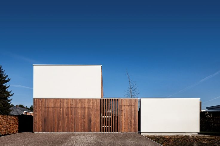 house VDB | destelbergen - Projects - CAAN Architecten / Gent