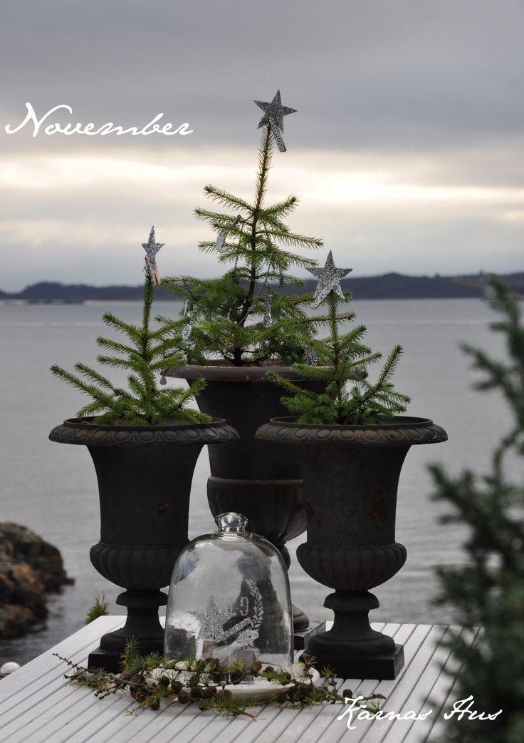 Kerstdecoratie Sfeerhoekjes in de tuin