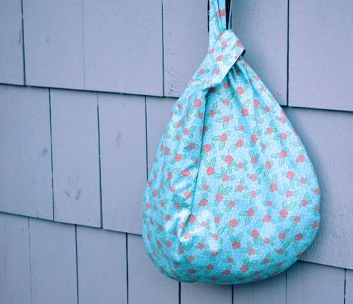 Japanese Knot Bag Pattern | AllFreeSewing.com