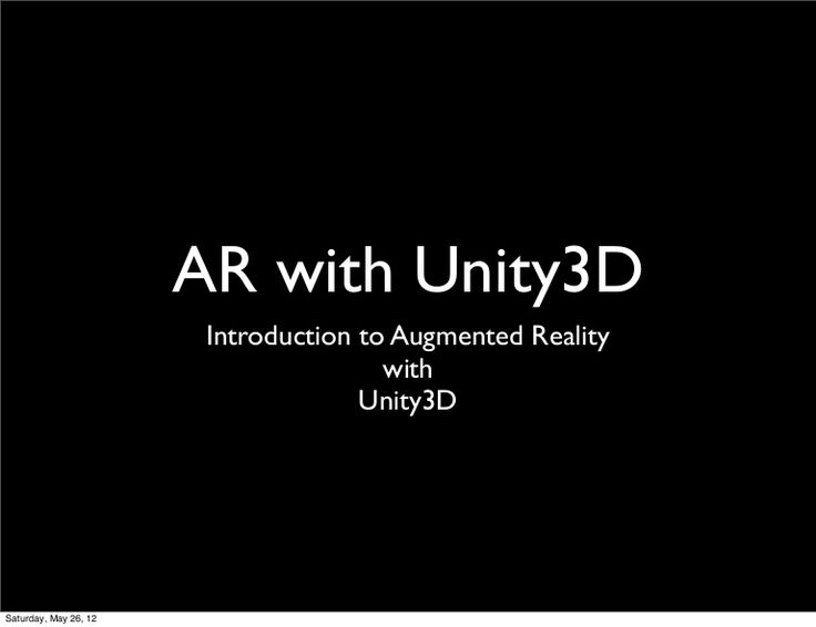 applications of augmented reality unintended, malicious and evil applications of augmented reality most new  products begin life with a marketing pitch that extols the product's.