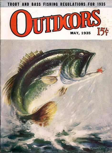 17 best images about vintage fishing ads lures on for Bass fishing magazine